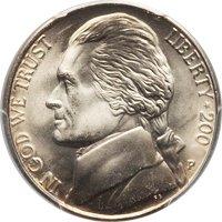 2002-P Jefferson Nickel Value