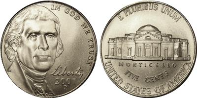 2007-D Jefferson Nickel Value