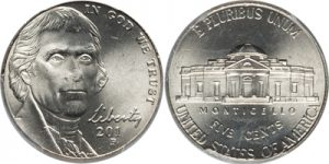 2012-P Jefferson Nickel Value