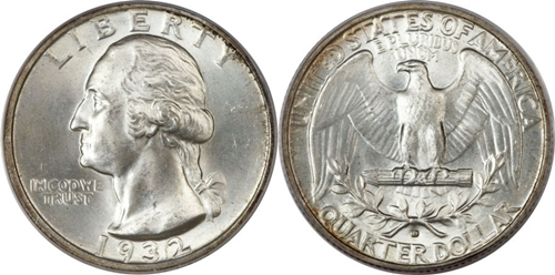 1932-D Washington Quarter Value