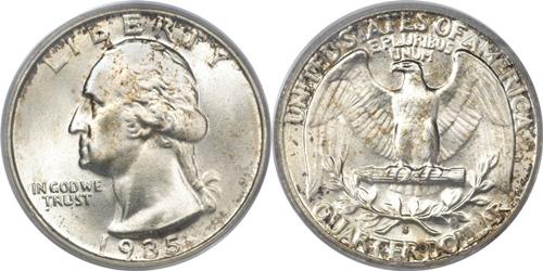 1935-S Washington Quarter Value