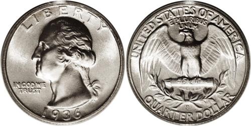 1936-D Washington Quarter Value