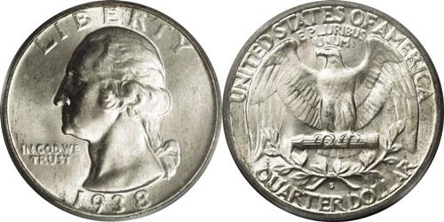 1938-S Washington Quarter Value