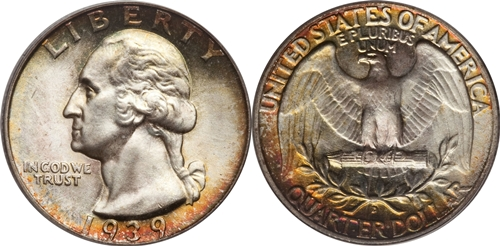 1939-D Washington Quarter Value