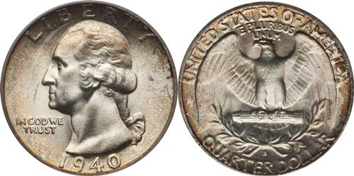 1940-S Washington Quarter Value