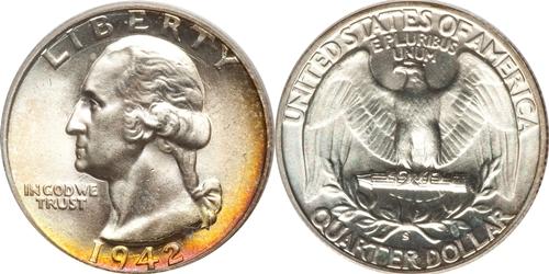 1942-S Washington Quarter Value