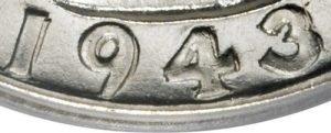 1943-S Washington Quarter Value Doubled Die DDO