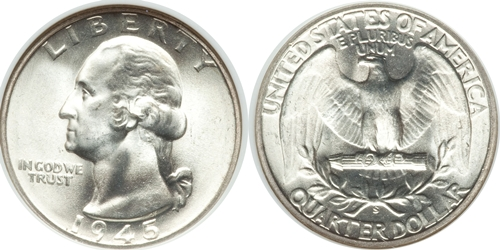 1945-S Washington Quarter Value