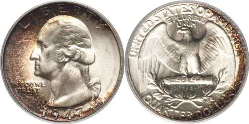 1947 P Washington Quarter Value