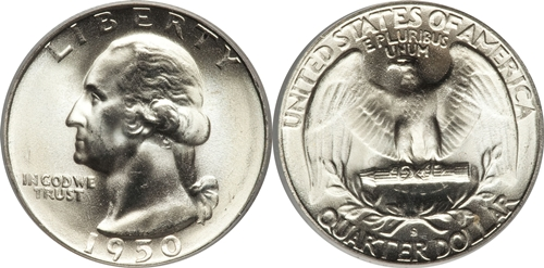 1950-S Washington Quarter Value