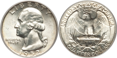 1952-D Washington Quarter Value