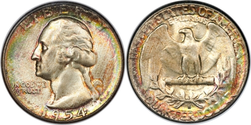 1954-S Washington Quarter Value