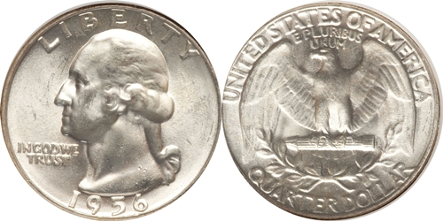 1956 P Washington Quarter Value
