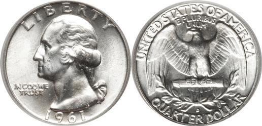 1961-D Washington Quarter Value