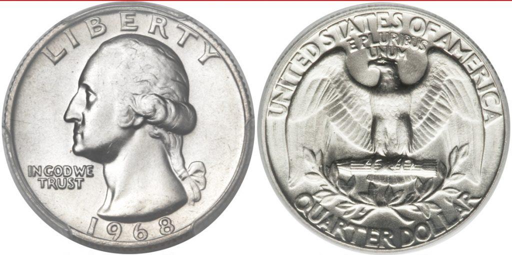 1968-D Washington Quarter Value