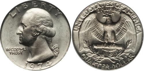 1974 P Washington Quarter Value Coin Help