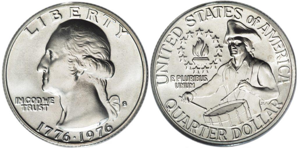 1976 D Washington Quarter Value 1776 1976 Dual Date