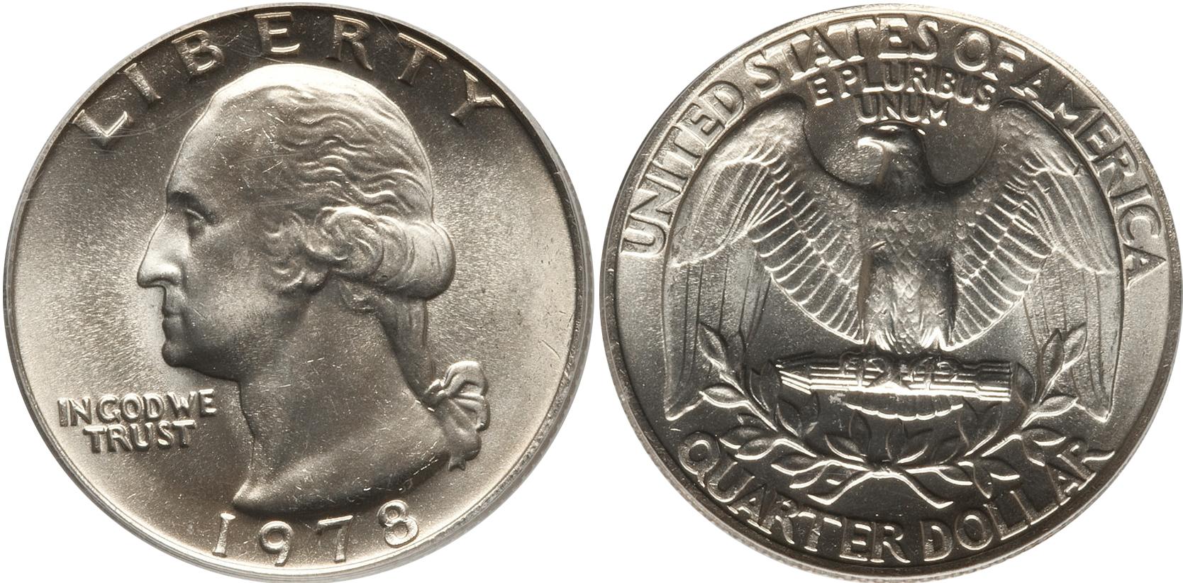 1978 Washington Quarter Value Coin Help