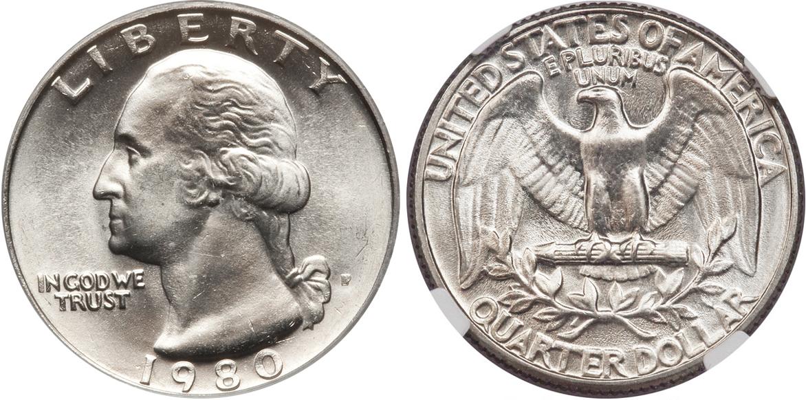 1980 D Washington Quarter Value Coin Help