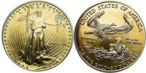 $50 American Gold Eagle Value