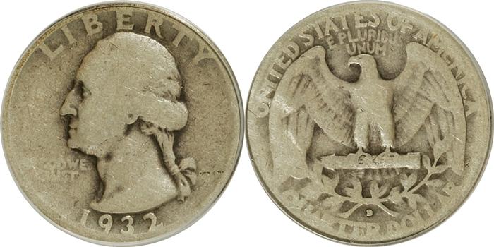 Washington Quarter Value Good G4