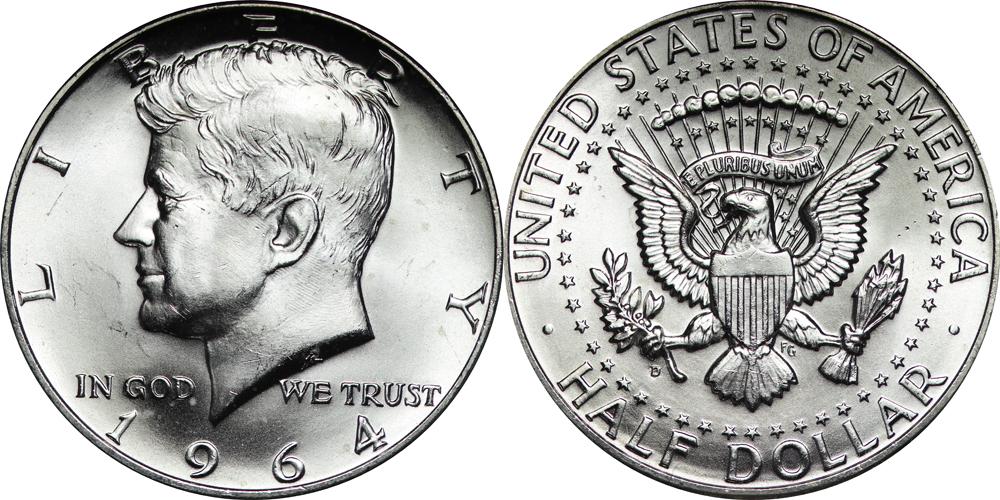 1964 D Kennedy Half Dollar Value