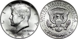 Kennedy Half Dollar Value - Melt Value