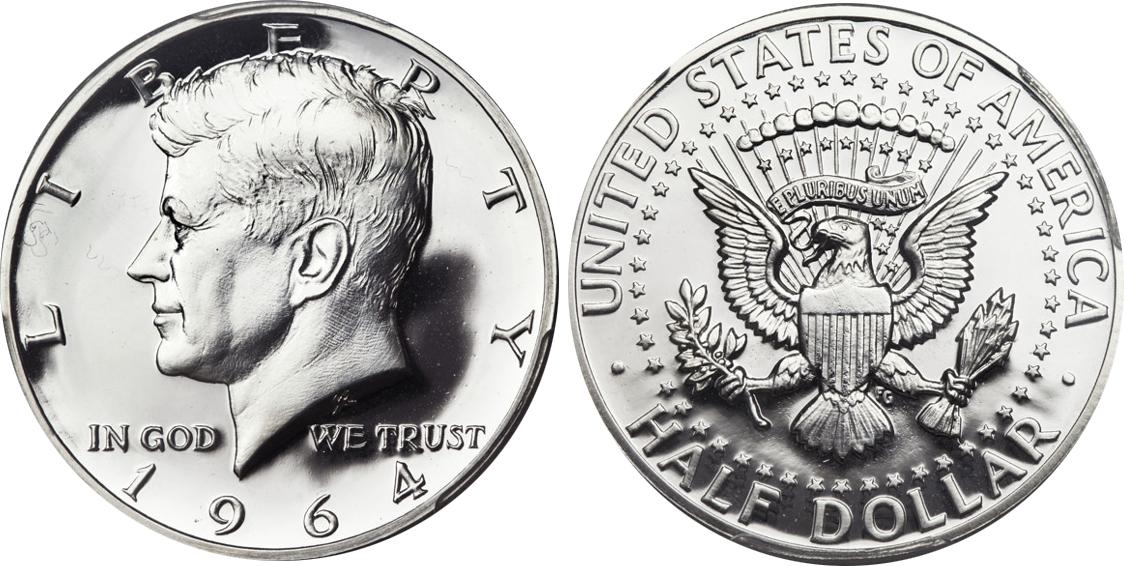 1964 Proof Kennedy Half Dollar Value Coin Help