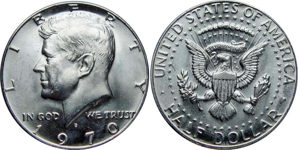 1970-D Kennedy Half Dollar Value