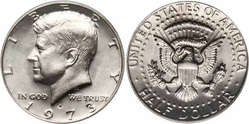1973 Kennedy Half Dollar Value Coinhelp