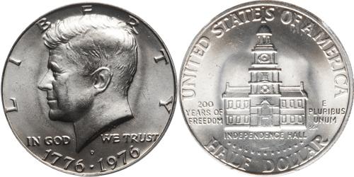 1976 Kennedy Half Dollar Value 1776 1976 Dual Date
