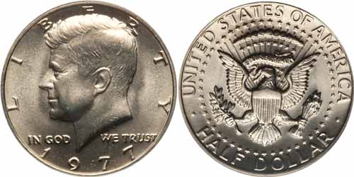 1977 Kennedy Half Dollar Value Coin Help