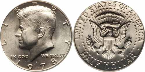 1978 Kennedy Half Dollar Value Coin Help