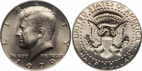 1979 Kennedy Half Dollar Value Coin Help