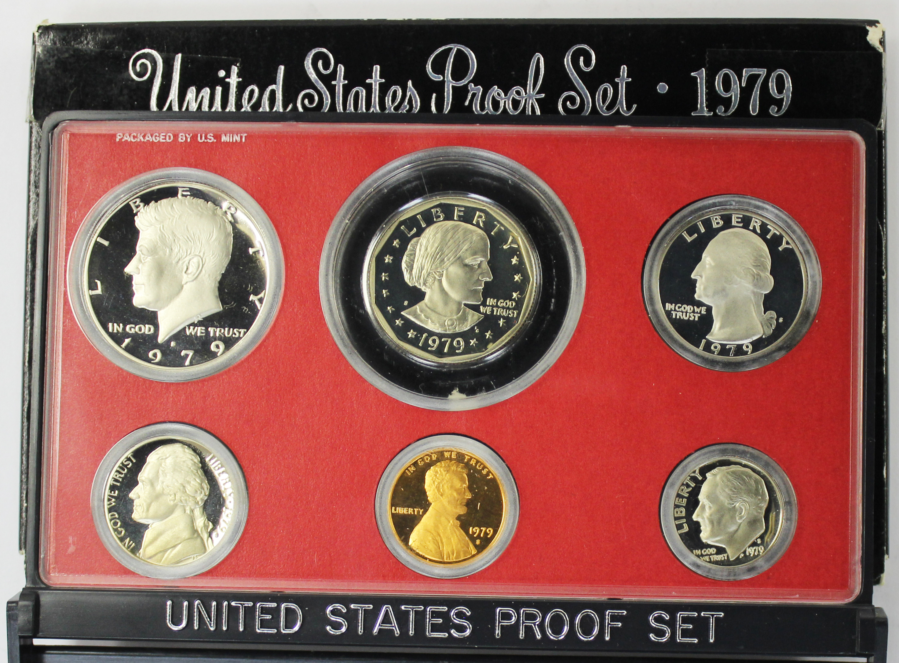1979 S Proof Susan B Anthony Dollar Value Type 2 Clear S