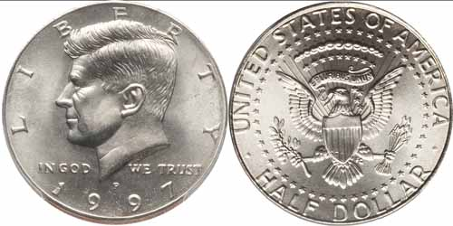 1997 D Kennedy Half Dollar Value - CoinHELP