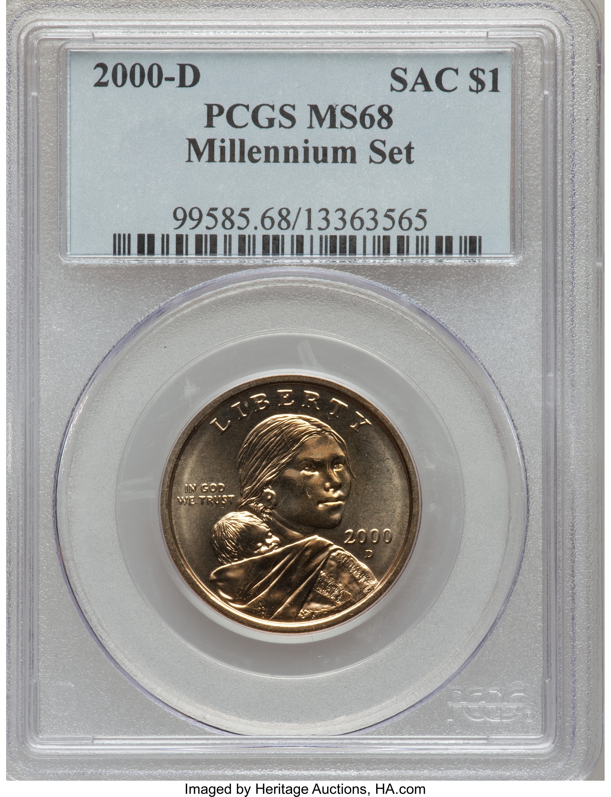 2000 D Millennium Set Sacagawea Dollar Value Coinhelp