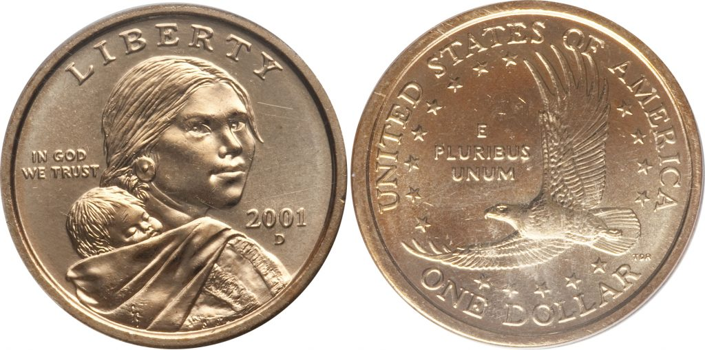 2001 D Sacagawea Dollar Value Coinhelp