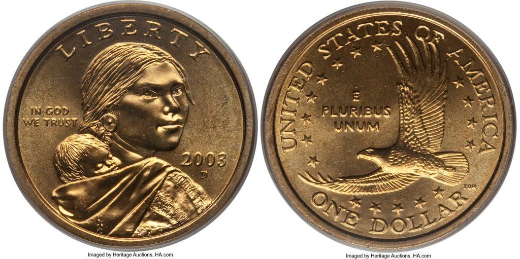 2003 D Sacagawea Dollar Value Coin Help