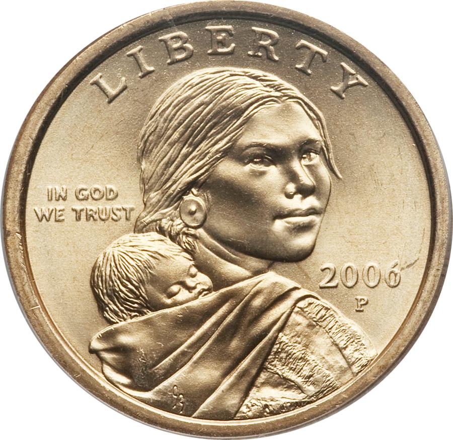2006 P Sacagawea Dollar Value Coin Help