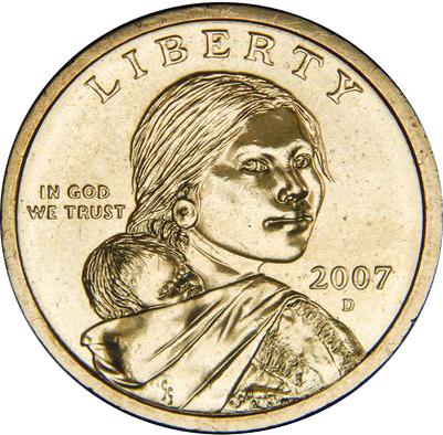 2007 D Sacagawea Dollar Value Coinhelp