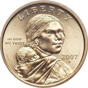 sacagawea coin p