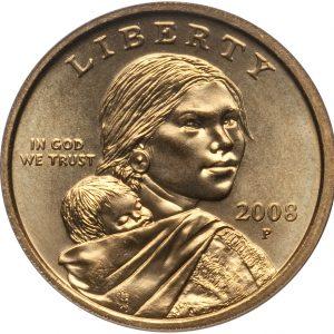 2008 P Sacagawea Dollar Value Coin Help