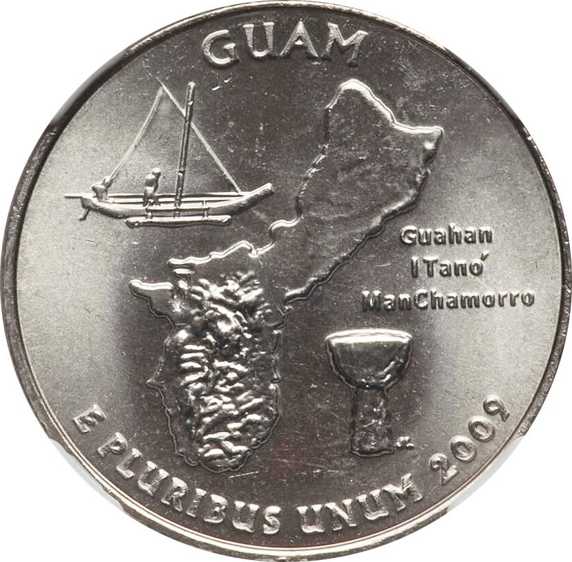 2009 P Guam Quarter Value U S Territories Coin Help