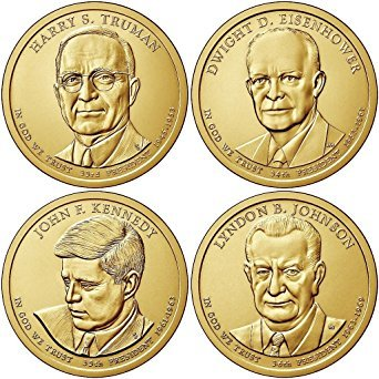 2015 P Lyndon B Johnson Presidential Dollar Value