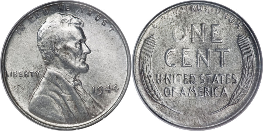 1944 steel cent penny value