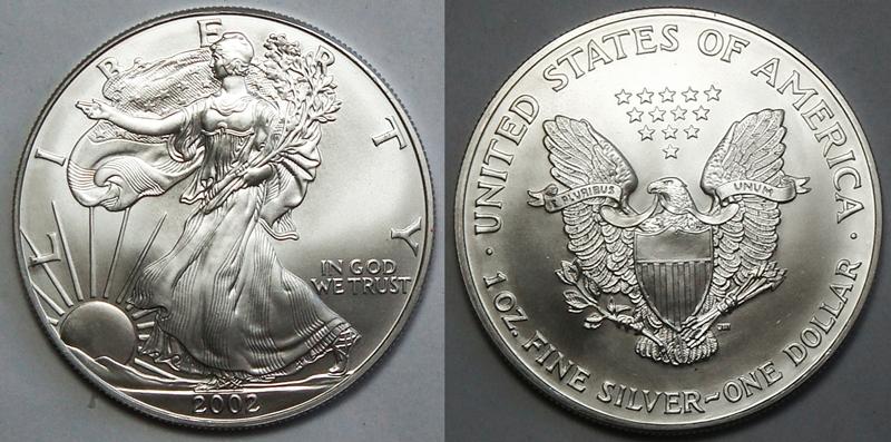 2002 Silver Eagle Value