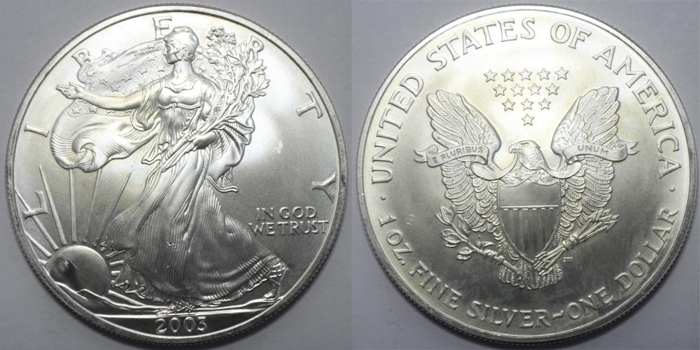 2003 Silver Eagle Value