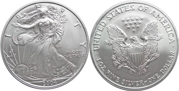 2004 Silver Eagle Value