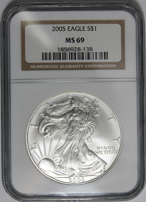 2005 Silver Eagle Value